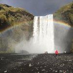 Skogafoss rainbow 2