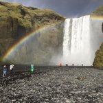 Skogafoss rainbow 3