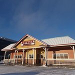 Outback Steakhouse, W. 34th Ave off A Street, Anchorage, AK.