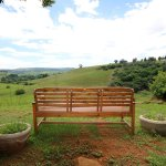 Great bench to relax on with lovely views of the midlands