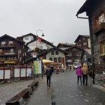 Im Herzen von Zermatt (die Wolken verdecken hier die Sicht aufs Matterhorn)