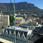 View of Table Mountain from Gym