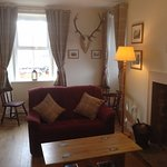 The Deerstalker's Lounge is a comfortable area in which to relax