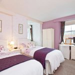 The Twin Room has a large bathroom and is situated on the ground floor