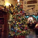 Huge Christmas Tree in lobby