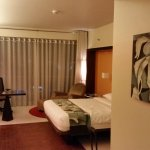"""""""Regular room"""", I sat on bed before photo, room is brighter than photo"""