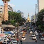 Photo of Sule Pagoda