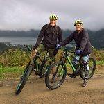E mountain bike tour around Seta Cidades Azores