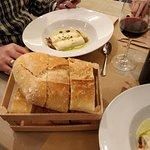 "Menú en restaurante"" la Caja"" en calle Serramagna, en Burgos Estupendo Todo buenisimo y por 15 e"