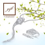Enjoy these #Gift pieces with the beautiful snake pendant and ring. #Snake #Jewelry #GiftDiamond