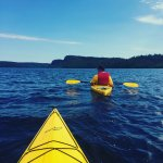 Kayaking to the the Palisades