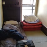 Our room as described. Simple, spare, traditional.