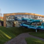 Our brand new state-of-the-art waterpark - complete with exciting flumes!