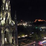 Scott Monument view from room