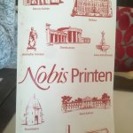 Menus featuring local attractions