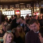 The exhilarating happy hour crowd!