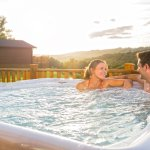 Make your stay memorable with your very own hot tub.