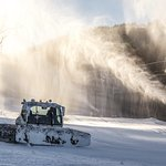 100% snowmaking and an expert grooming team
