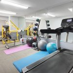 24 Hour Upscale Fitness Center with Cardio Equipment