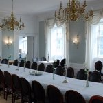 A magnificent dining room for parties
