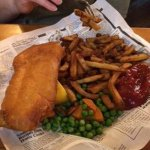 Traditional Fish and Chips