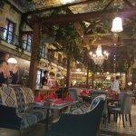 مطعم منقل ستيك هاوس فياكو من الداخل