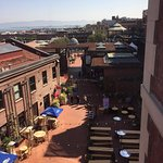 View of Ghirardelli Square from the room