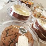 Cakes a plenty including Gluten Free options