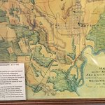 Map to show land topography. Used while on Vicksburg campaign.