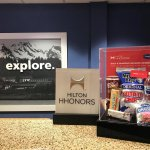 Hilton Honors snacks for our Gold and Diamond members