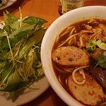 bun bo hue which was really good at Kim Huong