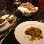 Biriyani in the hotel's Indian restaurant