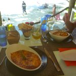 Lasagne lunch