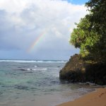Rainbow at Hideaways Beach