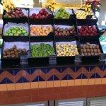 nice fruits selection at palace