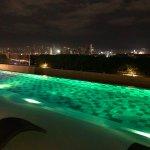 Rooftop Infinity Pool with Metro Manila Backdrop