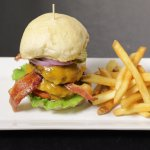Fresh House Made Buns & Our Seminole Pride grass-fed beef burgers are ground fresh in-house dail