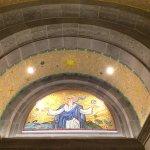 Beautiful mosaic ceiling detail
