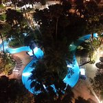 The Lazy River from Tower 5.  Looks great night or day!