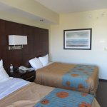 Very spacious bedroom and comfortable beds