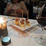 Cena muy agradable en El Peñón , restaurante de Salobreña con vistas inmejorables al mar y al ca