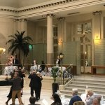 afternoon tea dance at Waldorf