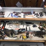 Our selection of knives.