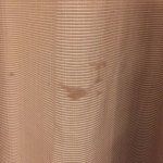 Stained curtain