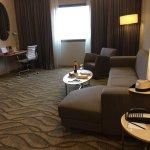 Sitting room of 23rd floor suite