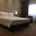 Bedroom of 23rd floor suite