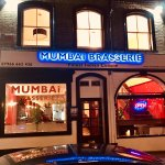 NEWLY OPENED MUMBAI BRASSERIE, TOP OF ANDOVER HIGH STREET