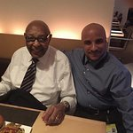 Chris McCain with legendary Louis Stokes sharing time @ Table 45 wonderful time wonderful compan