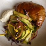 Maryland chicken with smoked yoghurt & cucumber salad