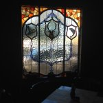 magnificent bespoke stained glass windows